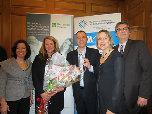 SIMCO Laureat du Merite Commercial Desjardin 2013