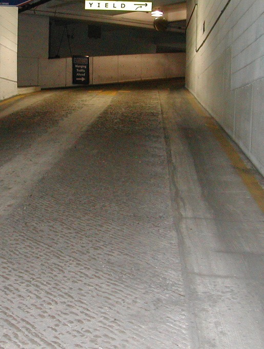 Parking condition assessment, repair and rehabilitation
