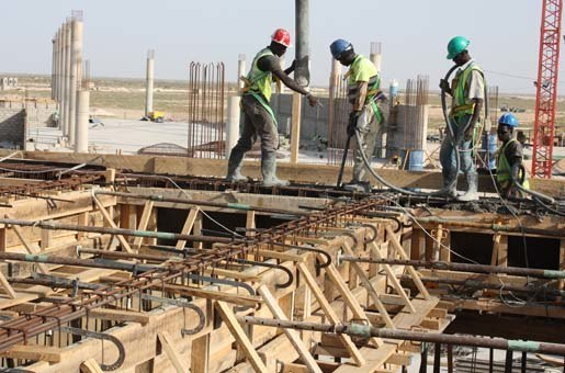 Mauritania Nouakchott International Airport Quality Control Concrete Construction