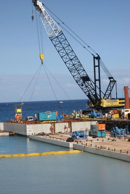 Kilo Wharf Extension Guam US Navy durability modeling