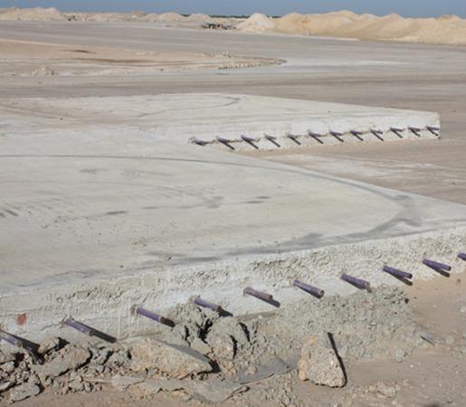 Mauritania Nouakchott International Airport Quality Control Concrete Construction