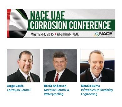 Nace ME 2015 Corrosion Conference Abu Dhabi UAE