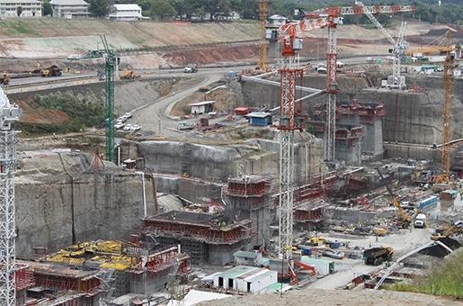 Panama Canal concrete durability engineerin