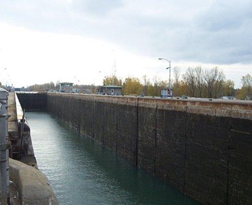 St Lawrence Seaway Locks Evaluation of degradation mechanisms