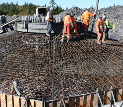Lac Alfred Wind Park Concrete Foundations Expertise
